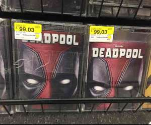 Walmart: Deadpool (Blu-ray o DVD) a $99.03