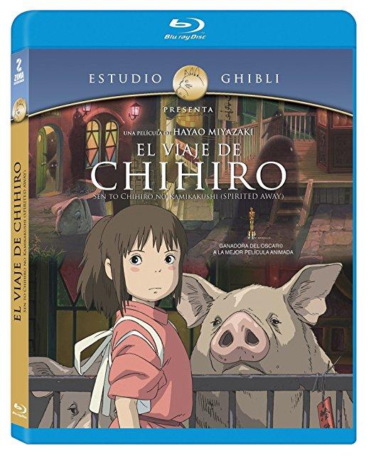 Amazon: Blu-ray El viaje de Chihiro $79
