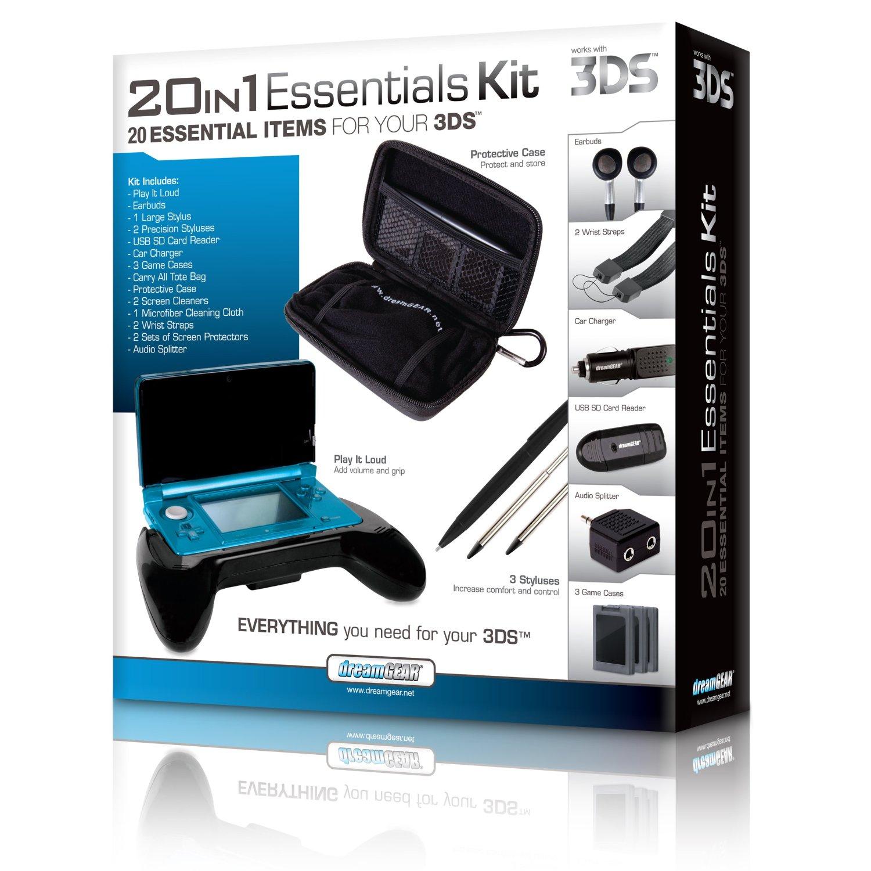 Amazon: Kit de 20 piezas para nintendo 3DS