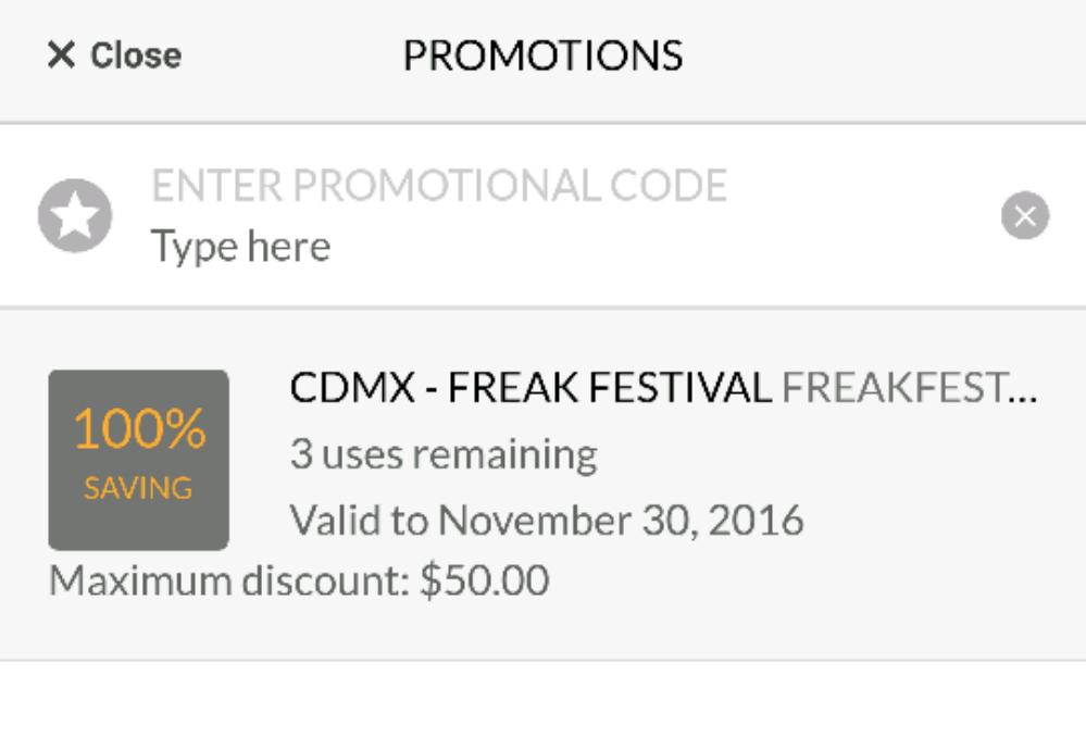 Código Cabify nuevos usuarios $150