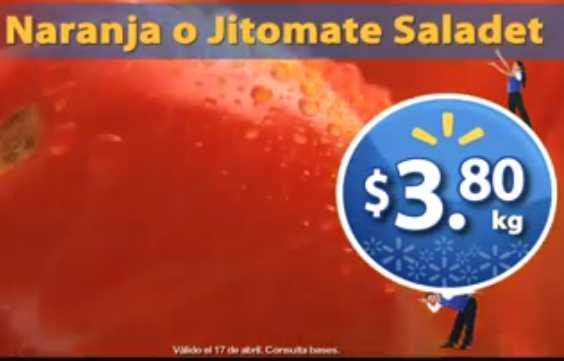 Martes de Frescura en Walmart abril 17: jitomate $3.80 Kg, manzanas $16.90 Kg y más