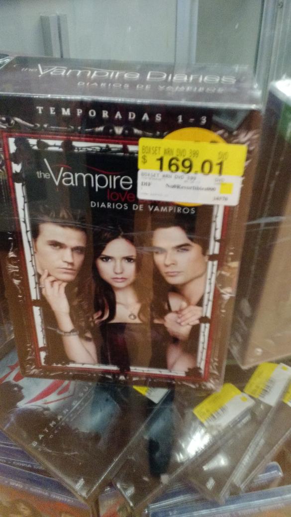 Walmart: Temporadas 1 a la 3 Diario de Vampiros.