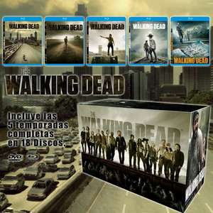 Amazon oferta relampago: The Walking Dead. Temporadas 1-5 Blu-ray