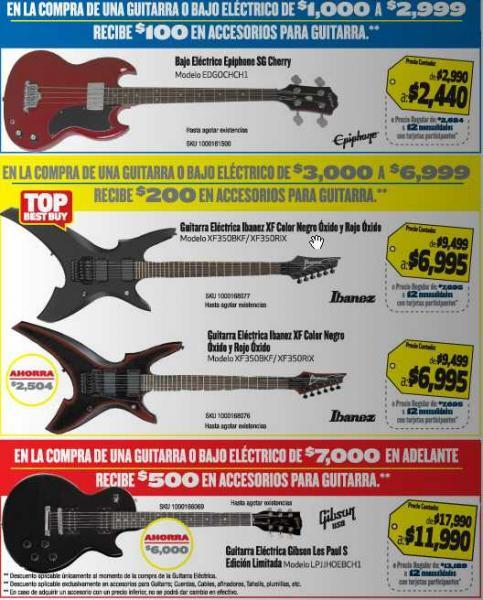 """Folleto Best Buy abril 12: pantalla LCD LG 42"""" a $6,990 con $1,000 de regalo y más"""