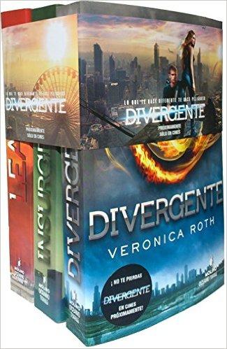 Amazon mx: libros de divergente paquete de 3 volúmenes