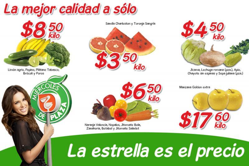 Miércoles de Plaza en La Comer abril 11: sandía $3.50 Kg, plátano $8.50 Kg y más