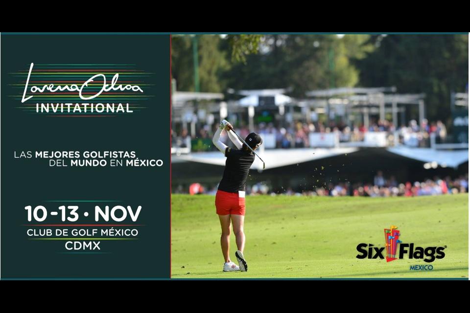 Six Flags CDMX: torneo de Golf Lorena Ochoa para socios con Pase Anual