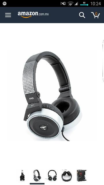 Amazon mx: AKG K67TIESTO Audífonos DJ Tiesto
