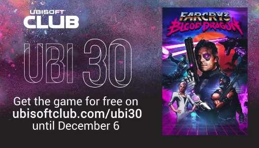 Far Cry 3 Blood Dragon gratis para PC el 9 de noviembre