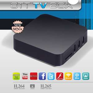 Amazon: Oferta relampago android tv box Amlogic S805 Quad Core H.265 1G/8GB