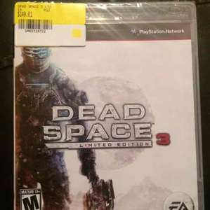 Walmart: Dead Space Limited Edition PS3 a $149.01