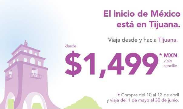 Volaris: viaja de y hacia Tijuana desde $1,499