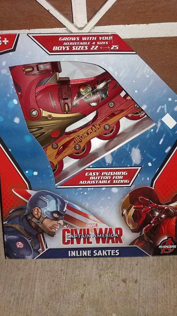 Walmart: patines en linea civil war y sabanas 600 hilos select edition