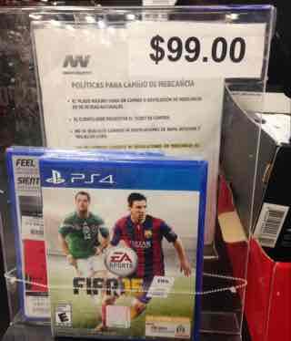 Innovasport: Fifa 15 para PS4 a $99