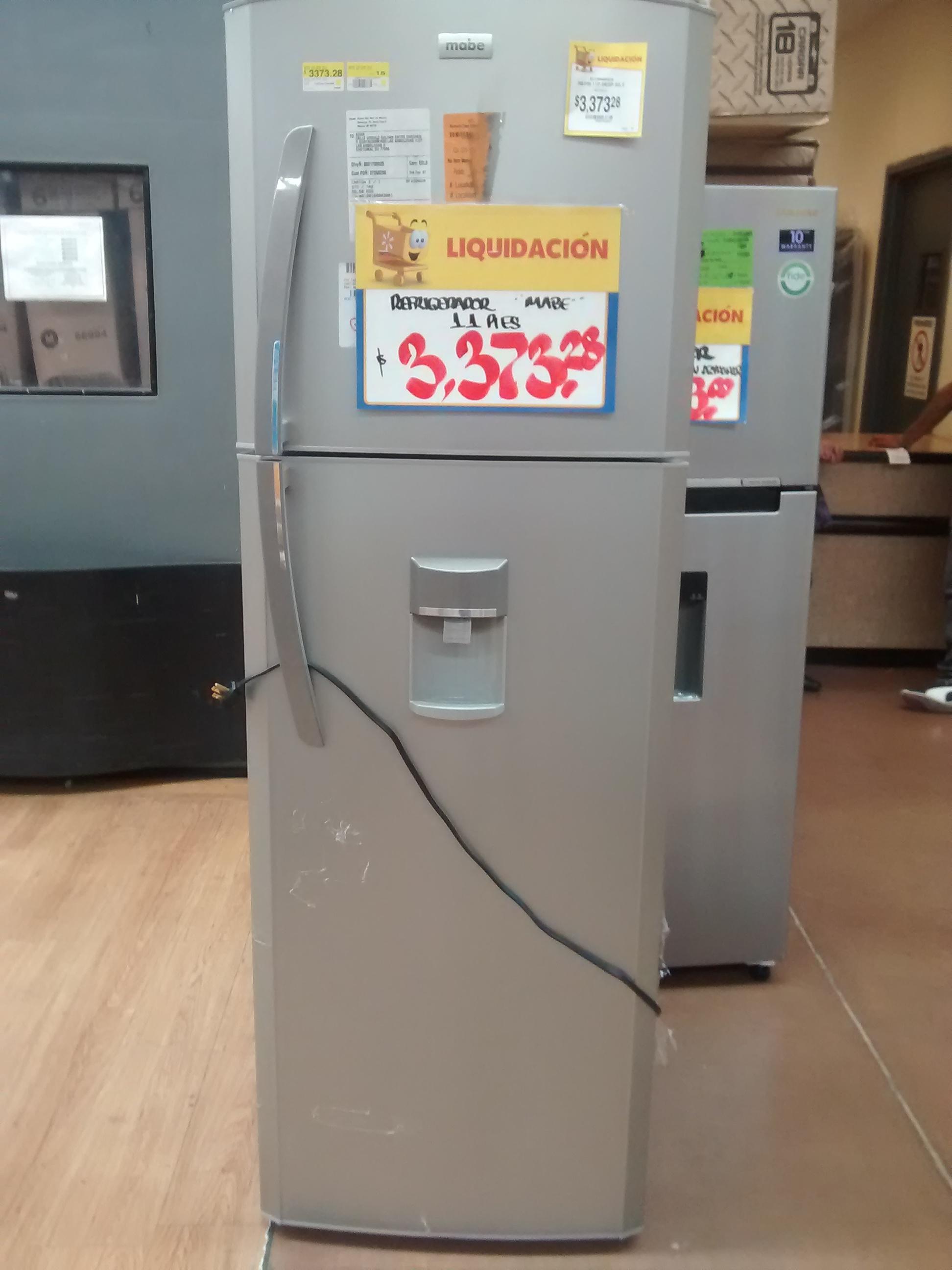Walmart San Marcos Cuautitlan Izcalli: Liquidación de Refris