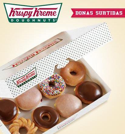 Docena de donas de Krispy Kreme a $79