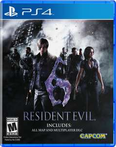 Amazon MX: Resident Evil 6 para PS4 en $314