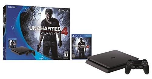 Amazon USA: PS4 Slim 500 GB Uncharted 4 Bundle