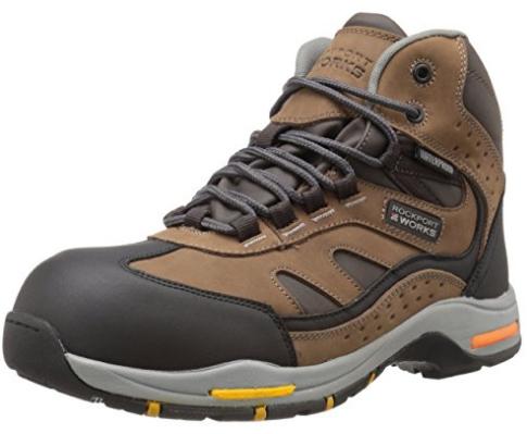 Amazon: Zapatos de trabajo Rockport tallas 26.5 y 27
