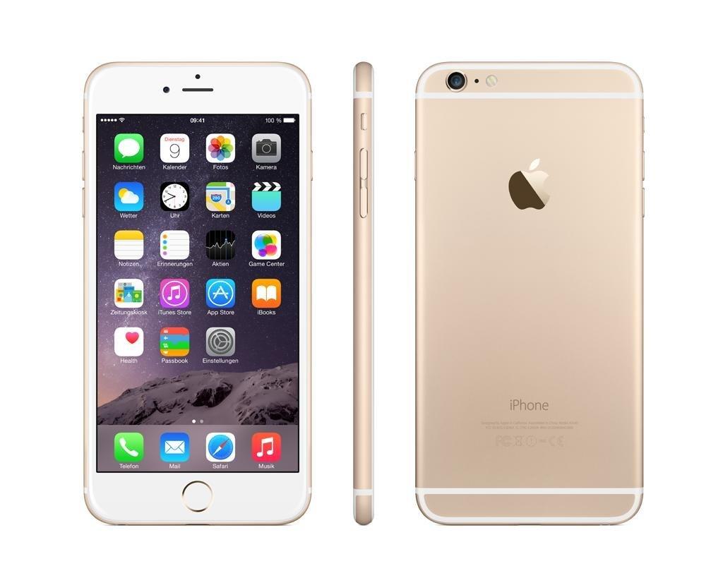 Amazon: Apple iPhone 6 Plus 128 GB, Oro