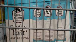 Sam's Club: 12 pack de leche Santa Clara light en $148