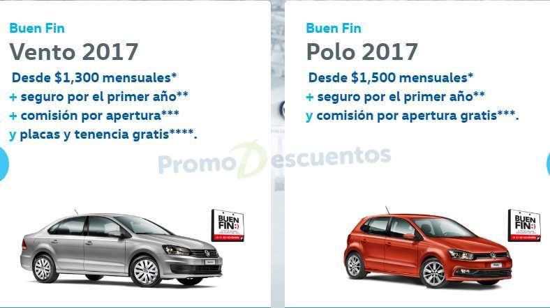 Promociones del Buen Fin 2016 en Volkswagen