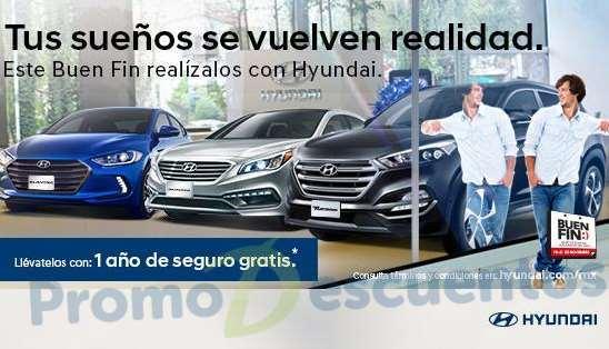 Promoción del Buen Fin 2016 en autos Hyundai
