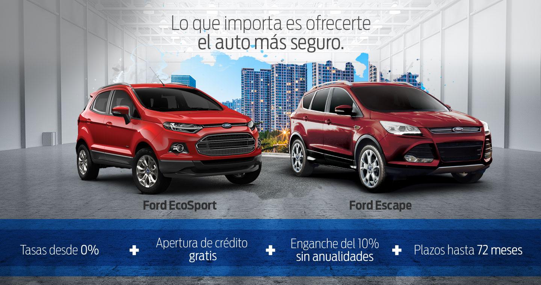Promociones del Buen Fin 2016 en autos Ford