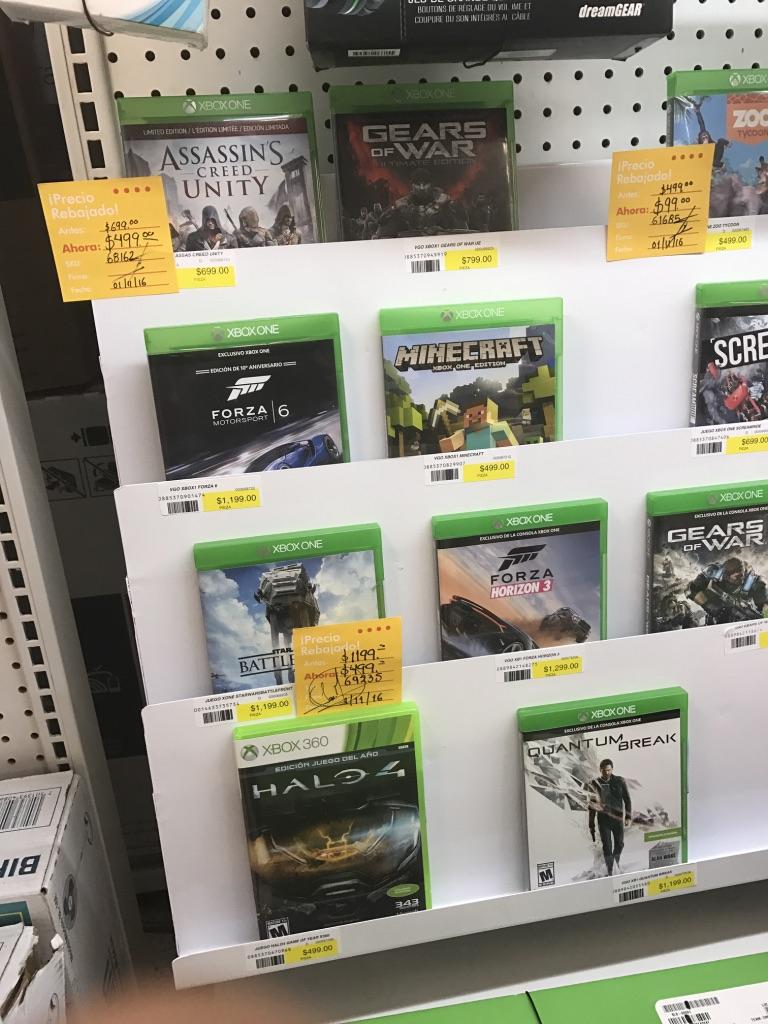 Office Depot: Precio rebajado de diferentes títulos de videojuegos de Xbox One, 360, PS4, etcétera