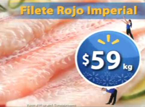 Fin de semana de frescura Walmart marzo 30: filete rojo $59 Kg y más