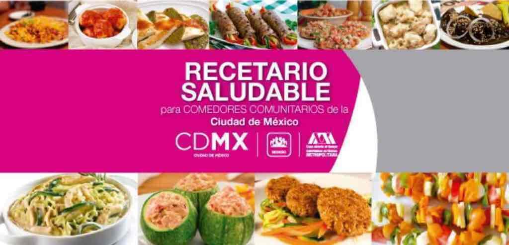 CDMX: Recetario Saludable, menús por menos de $10 x persona
