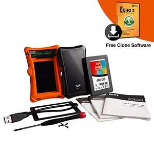 Amazon USA: Paquete de SSD Marca Silicon Power de 480GB más upgrade kit