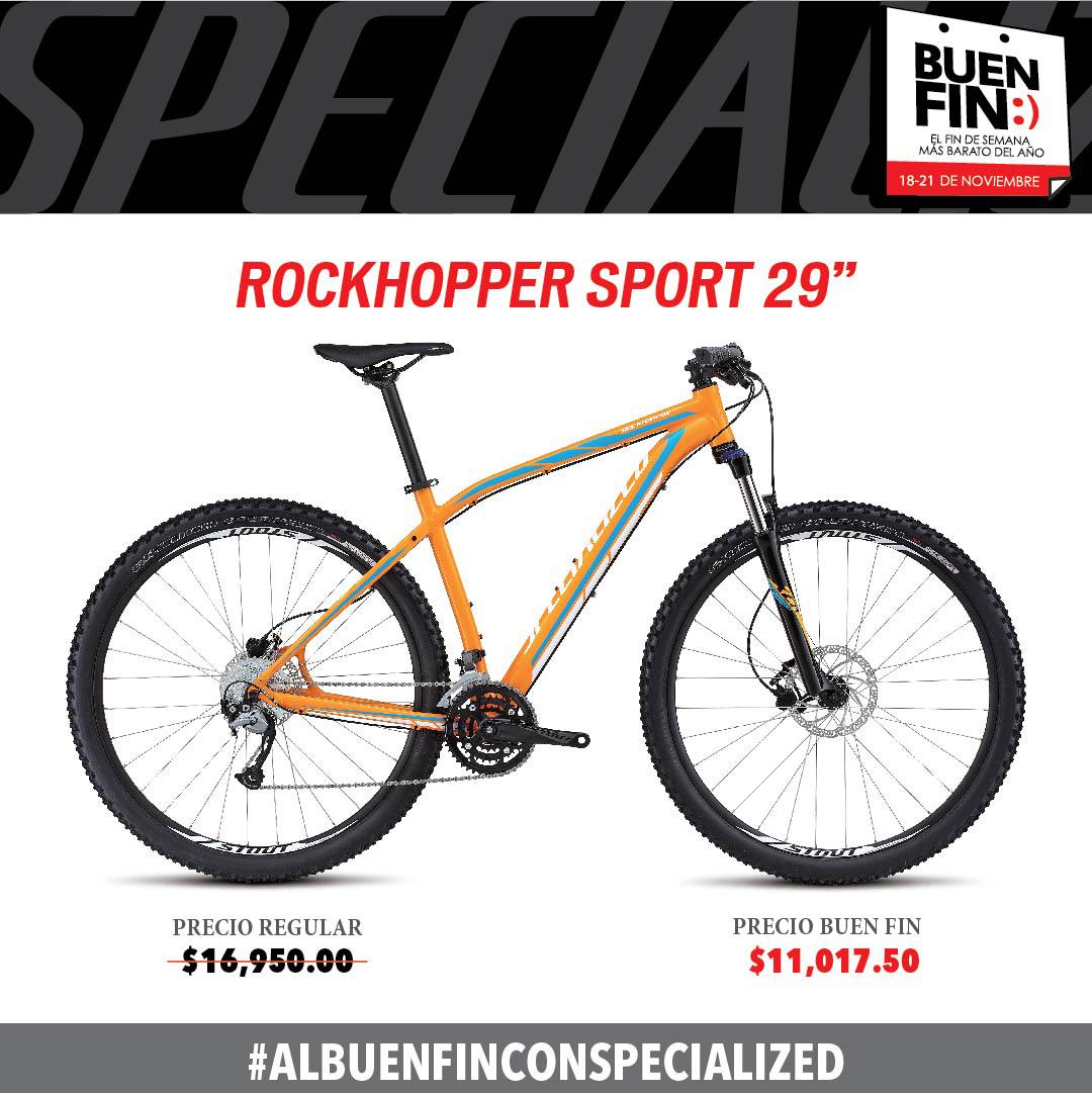 Bicicletas Specialized: Ofertas del Buen Fin