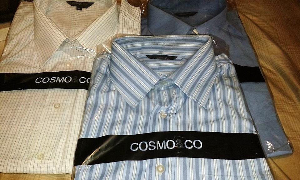 Walmart Villa Juárez, N.L: camisas para caballero marca COSMO & CO a $90.03
