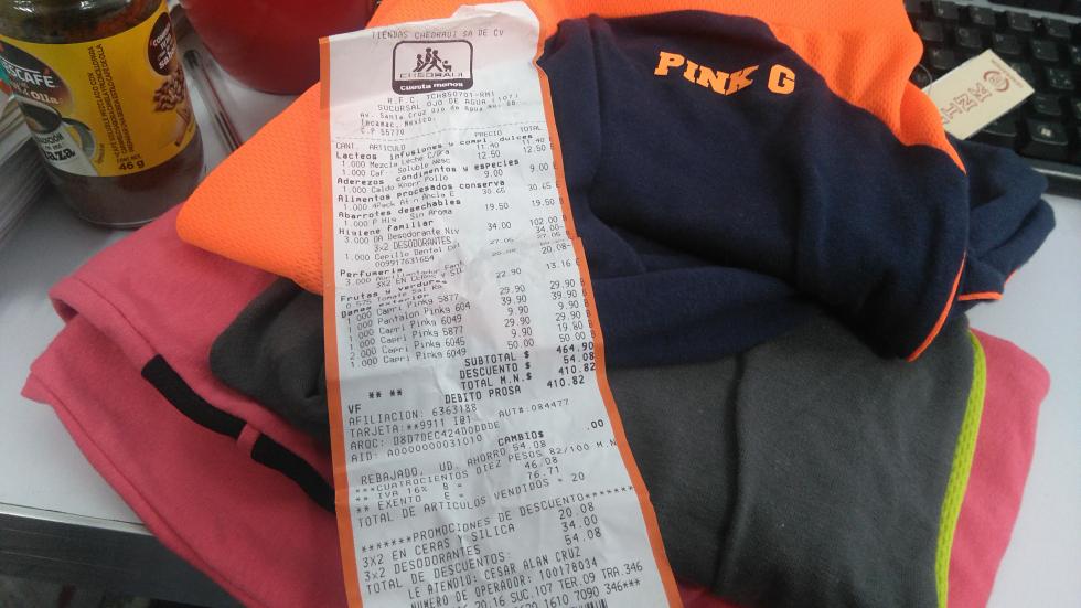Chedraui: pants para dama marca PinkG a $10