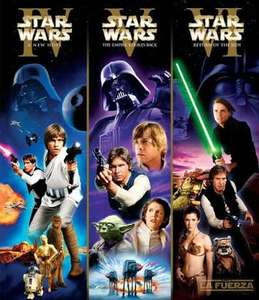 Amazon: Trilogia Clasica de Star Wars
