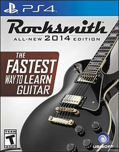 Amazon: Rocksmith 2014 PS4 Cable Incluido