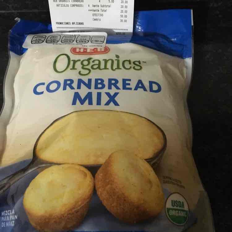 HEB Cumbres: harina de maíz orgánica