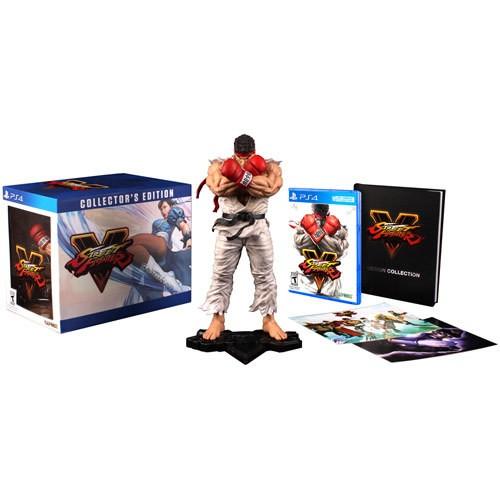 Amazon: Street Fighter V Edición de Colección para PS4
