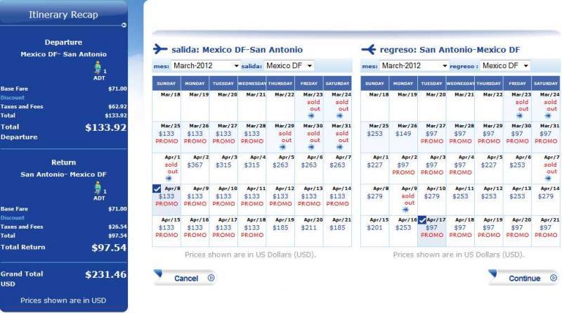 Interjet: venta especial destinos internacionales