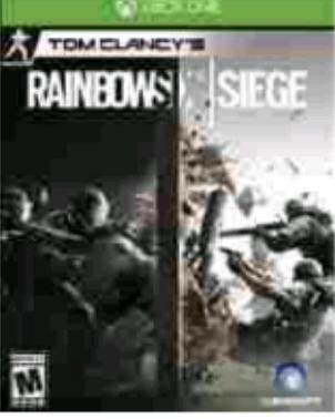 Amazon: Rainbow Six Siege Standar Edition para Xbox One a $412