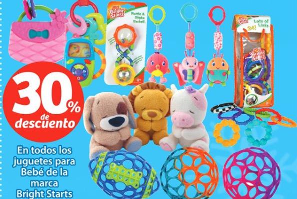 Soriana: 30% en juguetes Bright Starts