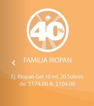 Farmacias San Pablo: 40% de descuento en Riopan, 35% en Gatorade y más