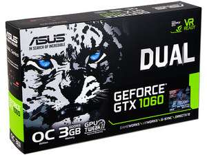 PCEL: Tarjeta de Video NVIDIA ASUS GeForce GTX 1060 3GB GDDR5