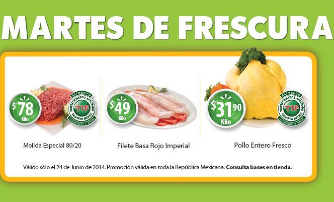 Martes de frescura Walmart junio 24: plátano $6.90 el kilo y más