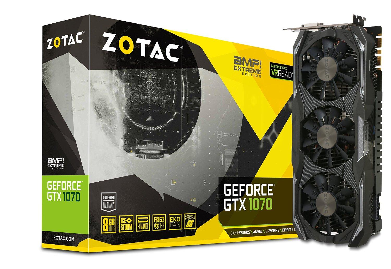 Amazon: Zotac GTX 1070 y se puede a MSI