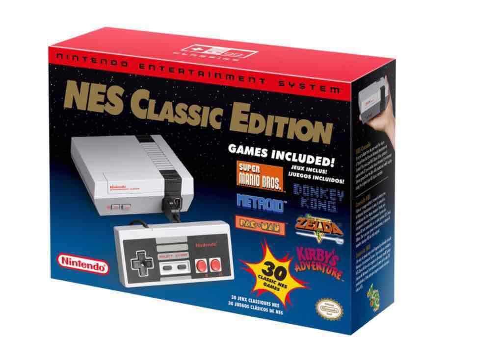 Liverpool Nintendo Nes Classic Edition envió gratis