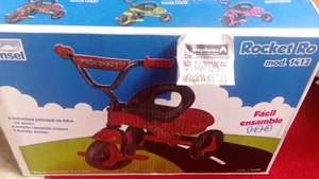 Bodega Aurrerá: triciclo Princel a $399