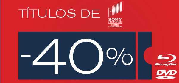 Blockbuster: 40% de descuento en títulos de Sony