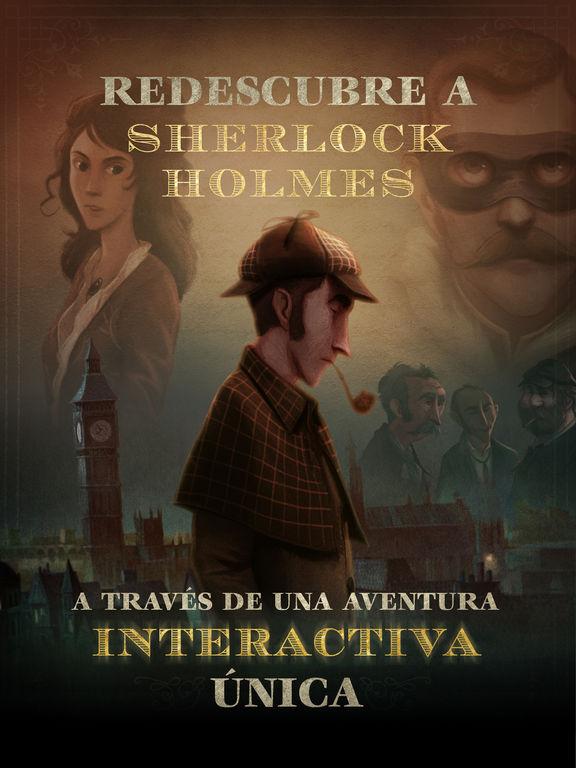 APP APSTORE Las Aventuras Interactivas de Sherlock Holmes  Gratis tiempo limitado